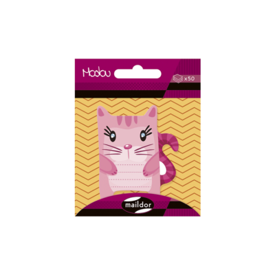 Cute little cat sticky notes