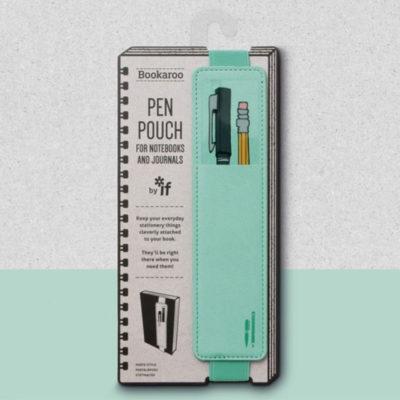 mint green pen pouch