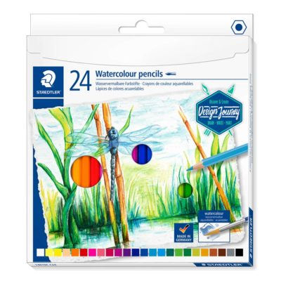 Staedtler watercolour pencils 24pk