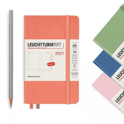 Leuchtturm1917 2021 A6 weekly planner - pocket