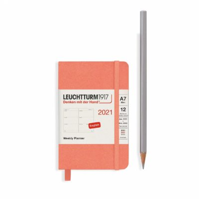 Leuchtturm 2021 mini pocket diary bellini