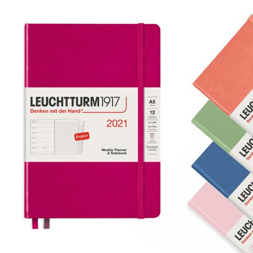 Leuchtturm 2021 A5 weekly planner notebook