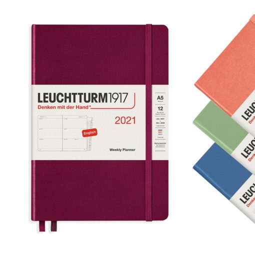 Leuchtturm 2021 A5 planner week to view