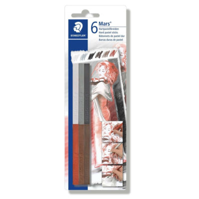 Staedtler hard pastels - 6 colours