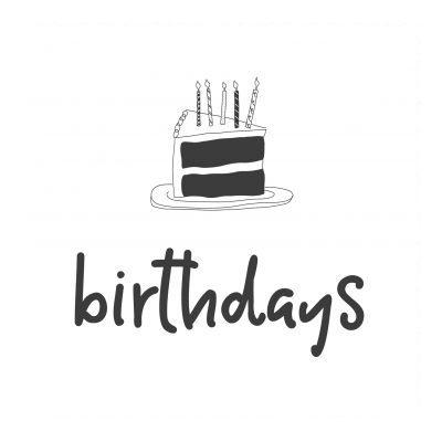 Birthday & Greetings