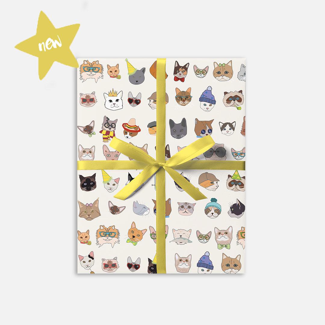 Dandelion Stationery Gift Wrap