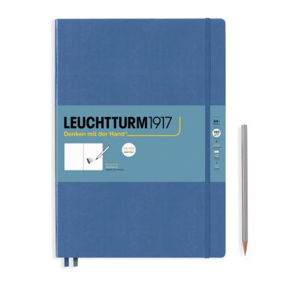 Leuchtturm-master-A4-denim-blue-sketchbook