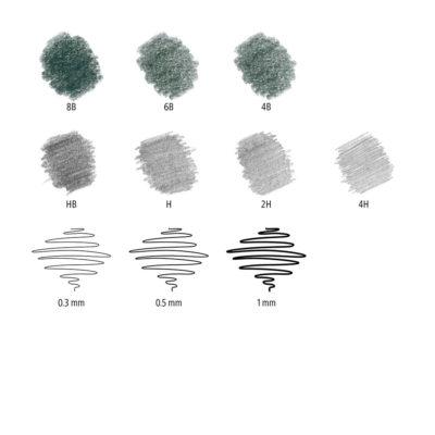 staedtler-sketching-set-12-piece-inks