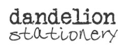 Dandelion Stationery