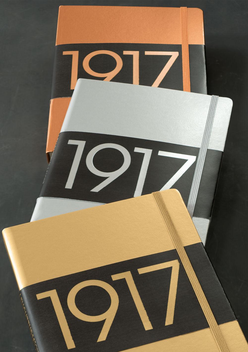 Leuchtturm1917-100Years-Metallic-Edition-A6-Hardback-Notebook-Gold-Silver-Copper-152488682213-2