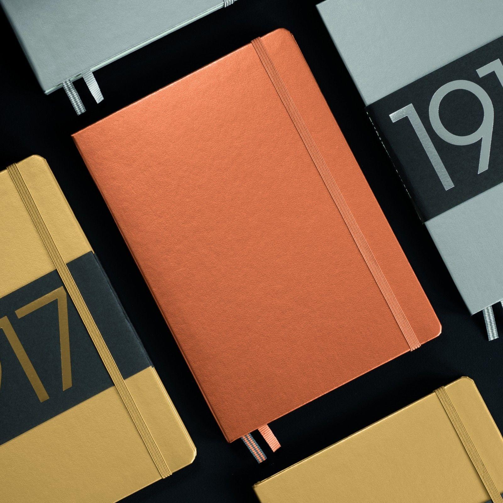 Leuchtturm1917-100Years-Metallic-Edition-A6-Hardback-Notebook-Gold-Silver-Copper-152488682213-3