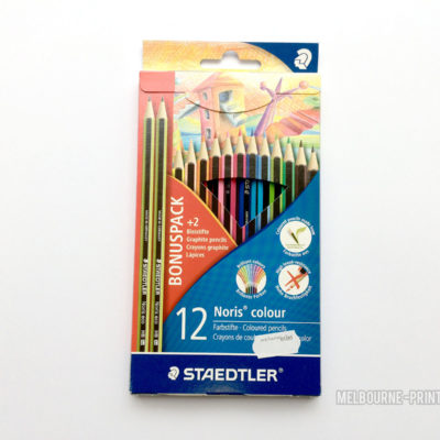 Staedtler-Noris-Colour-Pencils-12-Pack-Bright-Colouring-Set-2-Eco-HB-Pencils-152336930513
