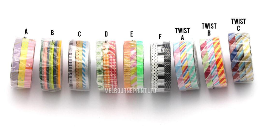 MT-Slim-Washi-Tape-Skinny-3-Pack-6mm-x-10m-Japanese-Deco-Craft-Trim