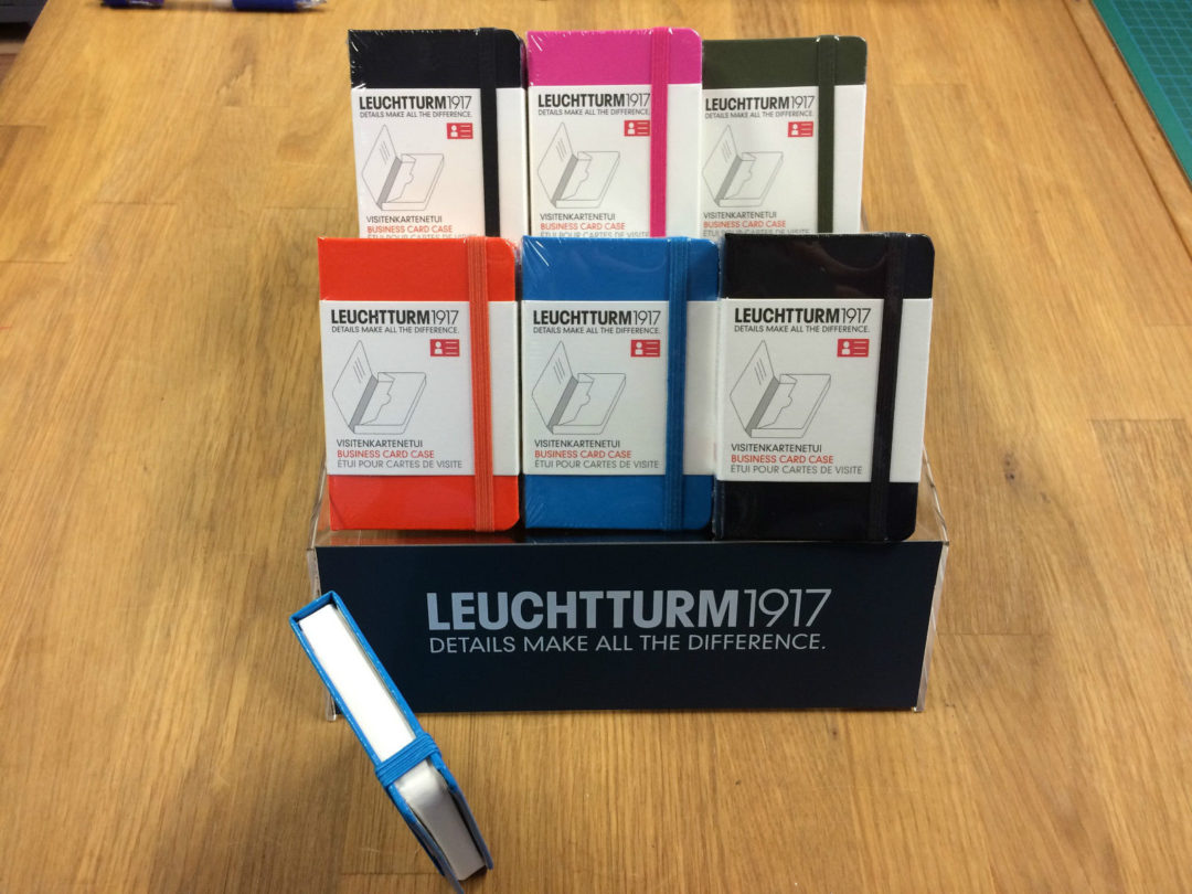 Smart Business Card Holder Case - Leuchtturm1917 - Stationery Studio